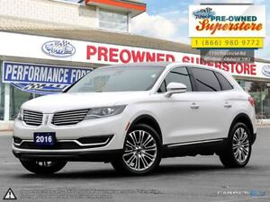 2016 Lincoln MKX Reserve>>>Leather, AWD, rear camera<<<