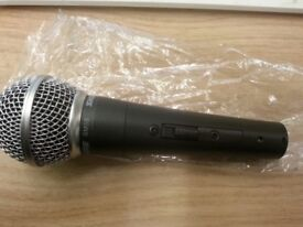 shure sm58s brand new reduced to clear. 2 available