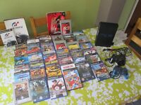 Playstation 2 with 35 games bundle