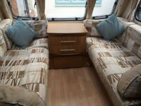 Bailey Pageant Sancerre 4 birth caravan