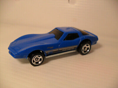 "2020 HOT WHEELS ""1982 CHEVY CORVETTE"" BLUE MULTI PK EXCLUSIVE LOOSE/ NEW"
