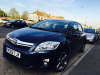TOYOTA AURIS 2012 T-SPIRIT HPI CLEAR FULL HISTORY 2 KEYS NOT YARIS HONDA VW POLO GOLF PASSAT BMW