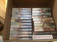 Sharp Books By Bernard Cornwall , Set Of 21 + 2 Others
