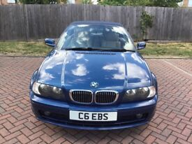 BMW 3 Series Blue Automatic Convertible