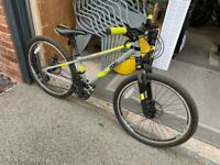 "24"" wheel aluminium frame 21 speed drop frame mountain bike"
