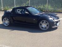 2004 (JUN 04) SMART ROADSTER 0.7 BRABUS TARGA - 2 Dr Convert - AUTO - Petrol - BLACK *RARE/FULL MOT*