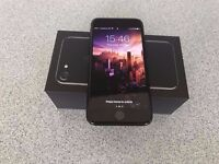 Apple Iphone 7 128 gb Unlocked Jet Black Excellent New Condition
