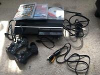 PS3 System 40GB + 2 Controllers + 3 Games