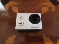 DBPOWER SJCAM 1080P Action Camera Cam Waterproof Sport Bike like GoPro