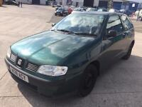 Seat Ibiza sdi diesel green