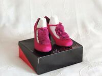 Ladies Fuchsia Satin Shoes. So Fabulous. UK.5. New/Boxed.