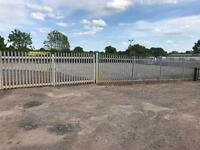 Secure Storage yard space 1250 sq. ft