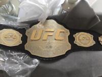 UFC TITLE CHAMPIONSHIP MMA BELT