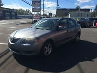 2004 Mazda MAZDA3 GS 1100$ TAX ET TRANSIT INCLUS 514-692-0093