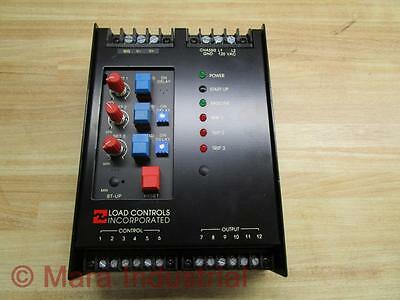 Load Controls Pcr-1830v Motor Load Control - Used