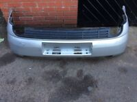 VAXUHALL VECTRA 2.2 CC 2005 HATCH USED REAR SILVER BUMPER