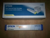 EPSON INK CARTRIDGE AND CANVAS CLOTH