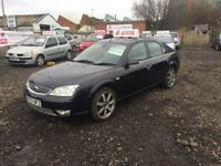 2007 07 FORD MONDEO TITANIUM X 2.0 TDCI 6 SPEED FULL MOT 6 MONTHS WARRANTY £995