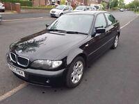 Black BMW 320d 2003 E46 Saloon, 4 Door, Manual, Diesel 2.0, 146K, 50 mpg Average, 150 bhp