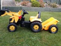 Toy Ride-on Tractor