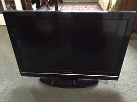"Flatscreen tv 32"" with remote"