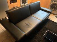 Black bed settee - free