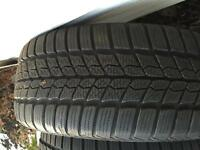 Almost New Winter Tires Barum 225/45 R17