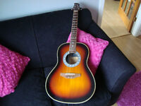 Tanglewood Odyssey Electric Acoustic Guitar with Stagg Carrying Bag