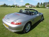 Porsche Boxster 2.7. Oct 2002, Facelift model. 77,000 miles.