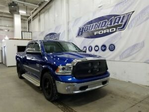 2014 Ram 1500 Laramie W/ 3.0L Diesel, 4WD, Leather, Alloy Wheels