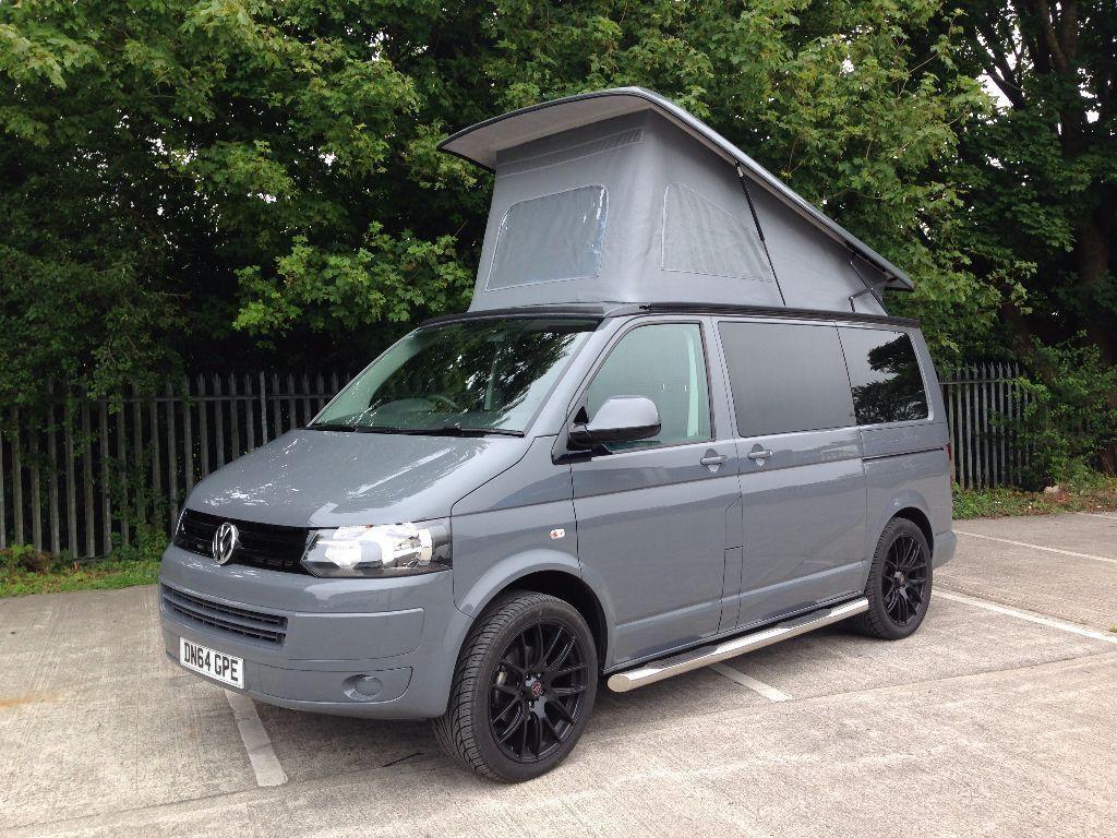 2014 vw t5 grey transporter campervan 39 highline 39 in. Black Bedroom Furniture Sets. Home Design Ideas