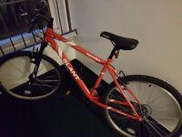 "Apollo Slant Men's Mountain Bike 17"" frame - comes with helmet, bike lock & pump"