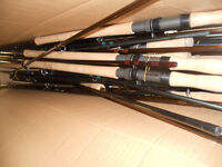 Salmon Fishing rod sections