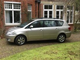Toyota avensis verso 7 seater full history one owner from new