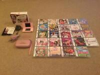 Nintendo DS Lite Pink & 24 Games