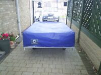 outer wether cover from conway clipper trailer tent 6ft6in long 4ft wide so may fit others