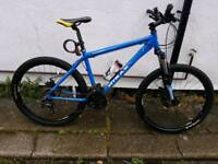 mens mountain bike with accessories