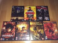 7 action DVDs