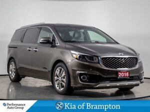 2016 Kia Sedona SXL+. NAVI. CAMERA. BLUETOOTH. HTD SEATS