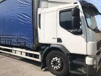 Volvo 18 tonne Lorry split box curtainsider