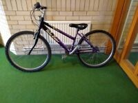 Raleigh ladies bike, 6 gears,with d lock and lights, excellent condition