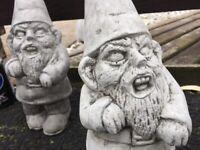 The Walking Dead Concrete Zombie Garden Gnome Ornament