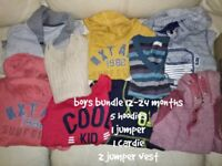 boys winter jumper bundle 12 - 24 months