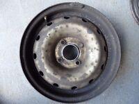 "4 Wheel rims 15"" for a Peugeot partner van"