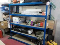 Adjustable racking suitable for garage/workshop