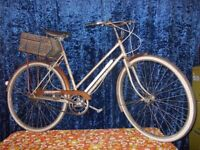 e19a0616785 Vintage 3 speed triumph bicycle with rear box Excellent bike in excellent  condition.