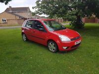 Ford Fiesta 1.4 petrol, manual. Excellent first car!
