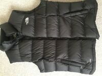 Ladies north face body warmer