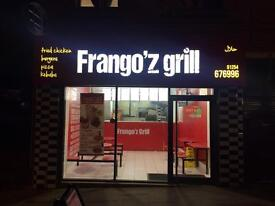 RUNNING Takeaway business for sale or to let or need a business partner who knows takeaway work