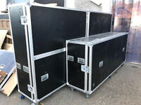 Flight cases, Pre-Owned - two sizes - collect from London